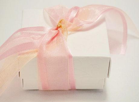 Μπομπονιέρα Κουτί ροζ