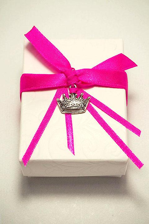 Μπομπονιέρα γάμου μίνιμαλ κουτί 820