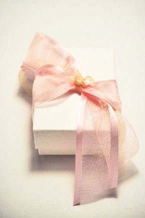 Μπομπονιέρα γάμου κουτί 822
