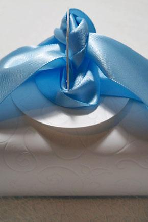 Μπομπονιέρα γάμου κουτί 809