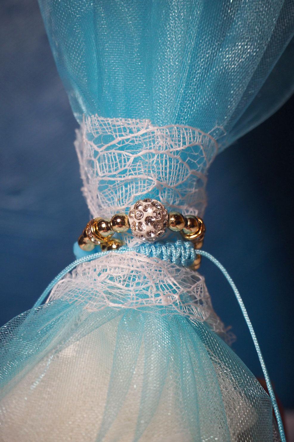 Μπομπονιέρα γάμου βραχιόλι 829