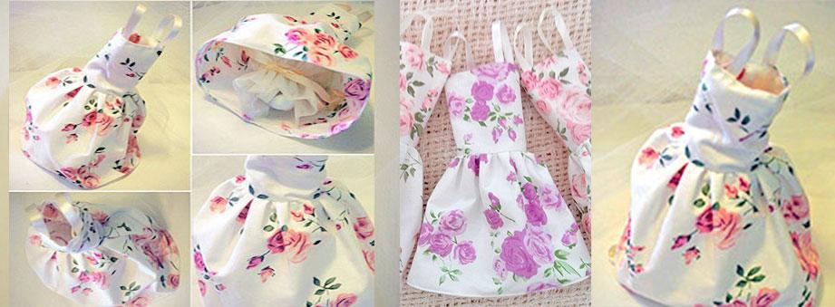 Μπομπονιέρα φόρεμα για κορίτσι