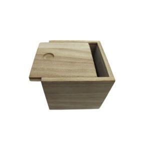 Ξύλινο κουτί συρταρωτό αλουστράριστο για μπομπονιέρα
